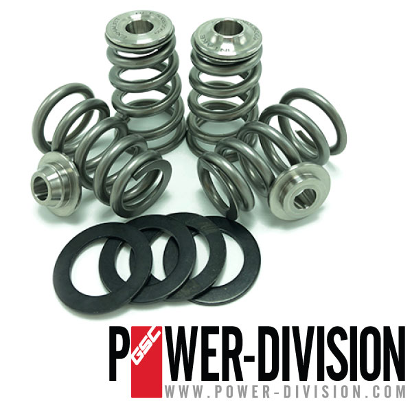 GSC Power-Division High Pressure Conical Spring kit with Ti retainer for the Nissan VR38DETT