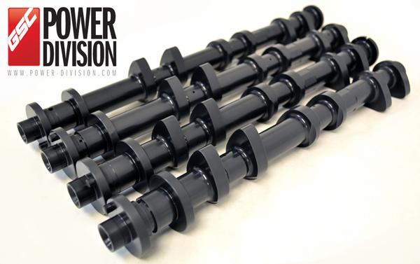 GSC Power-Division Billet S2 camshaft set for Nissan VR38DETT GT-R