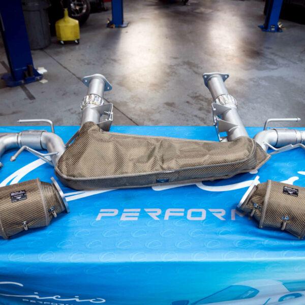 Soul Performance C8 Corvette Sport Exhaust Package