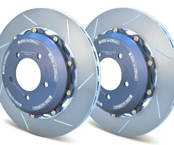 Girodisc Rear 2-piece rotors for Nissan GT-R