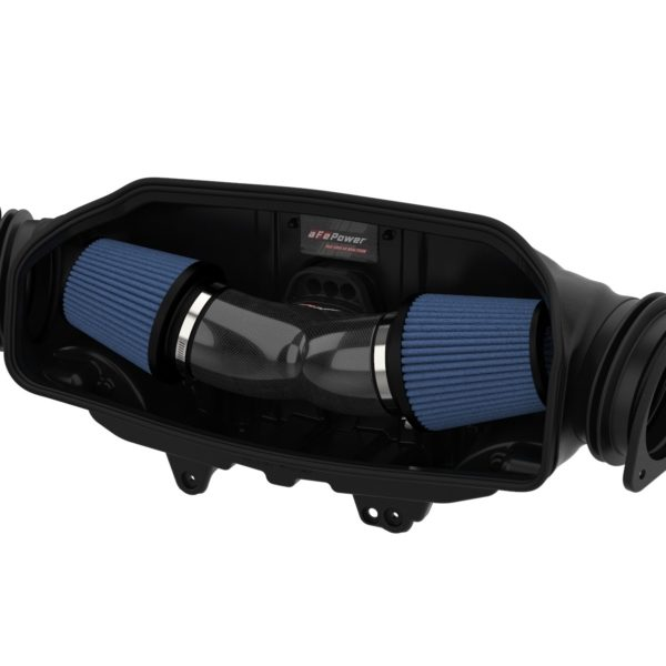 aFe Track Series Carbon Fiber Cold Air Intake System w/Pro 5R Filters