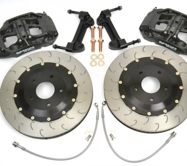 AP RACING BY ESSEX RADI-CAL COMPETITION BRAKE KIT (FRONT 9660/372MM) – C8 CORVETTE