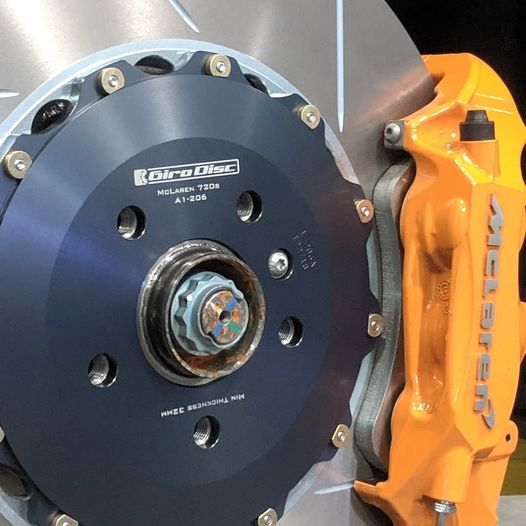 Front Rotors for 720S & 600LT by Girodisc