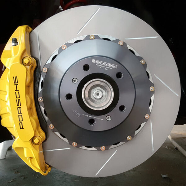 Rear Rotors for 991 Turbo by Girodisc – PCCB to Iron Conversion